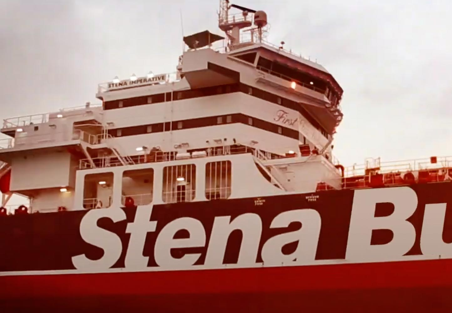 Stena bulk vessel